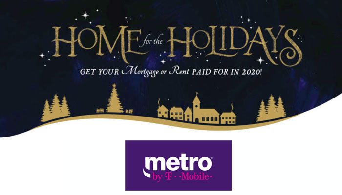 Home For The Holidays 2020.Home For The Holidays Get Your Mortgage Or Rent Paid For In