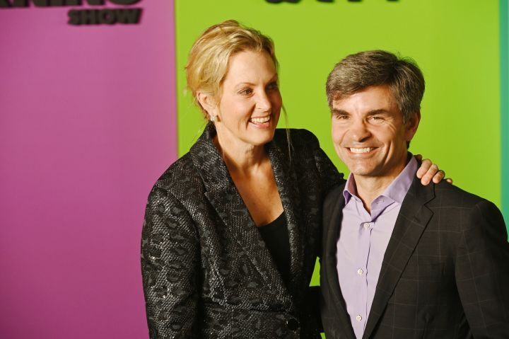 George Stephanopoulos & Wife