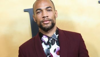 Kendrick Sampson arrives at the Los Angeles Premiere Of Focus Features' 'Harriet' held at The Orpheum Theatre on October 29, 2019 in Los Angeles, California, United States.