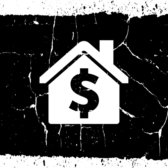 Dollar Sign on House Icon