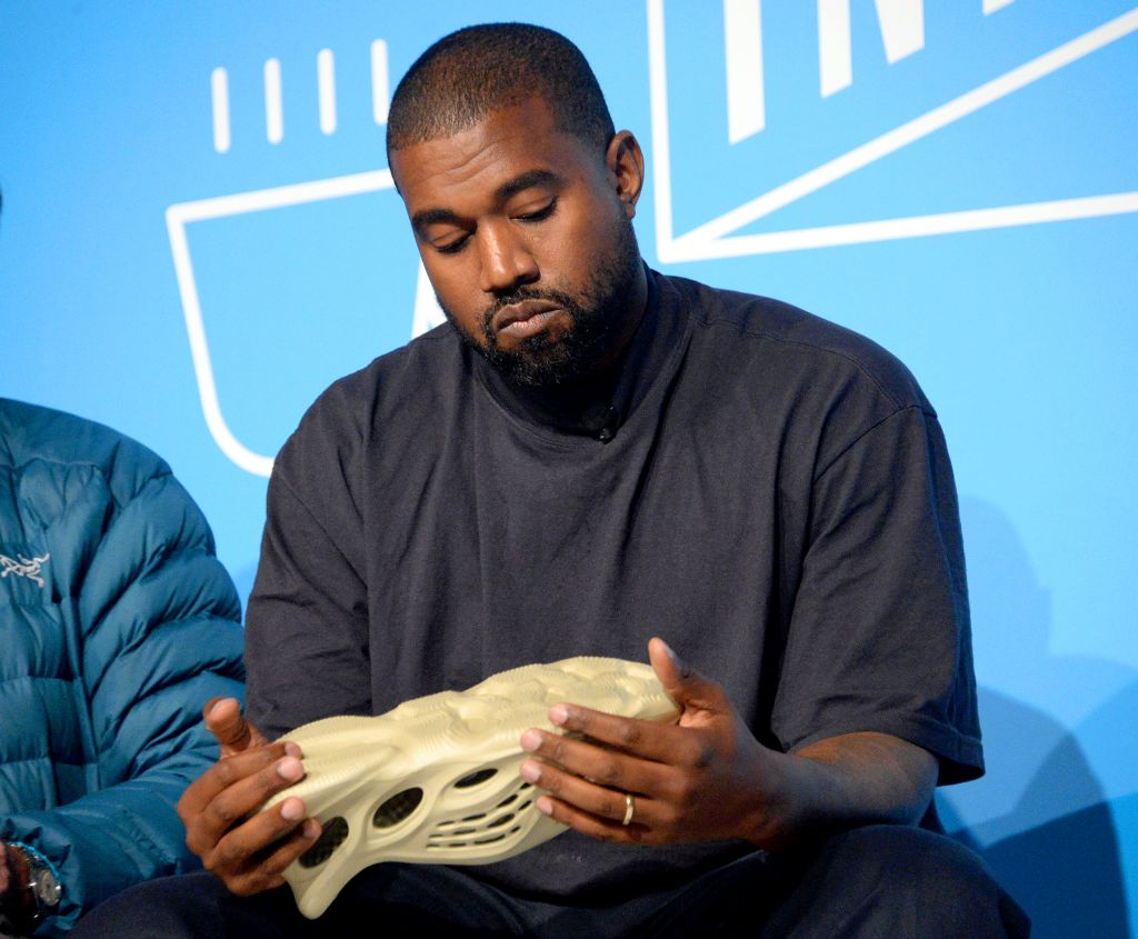 Kanye West Talks Yeezy in NYC