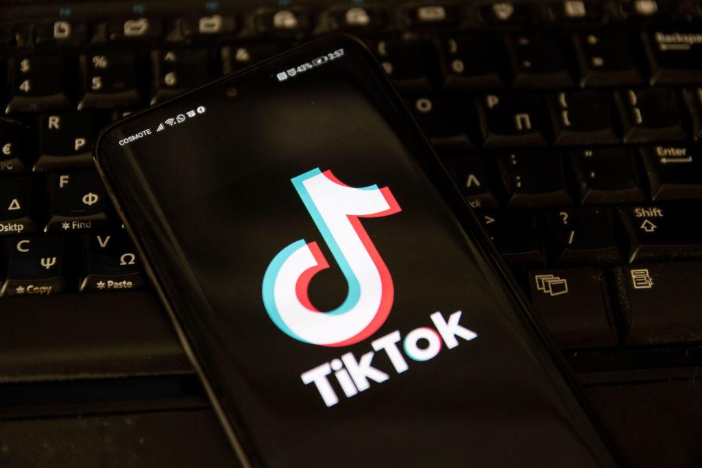 Illustration Of TikTok Logo
