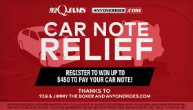92Q and AnyoneRides.com Car Note Relief_RD Baltimore WERQ_September 2020