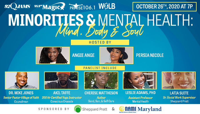 Minorities & Mental Health: Mind, Body & Soul Town Hall