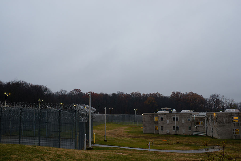 JESSUP, MD - NOVEMBER 26: The grounds at the men's prison, Mar